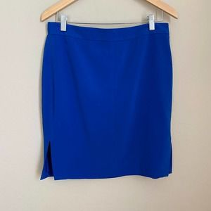 Dalia Blue Pencil Skirt Size 10
